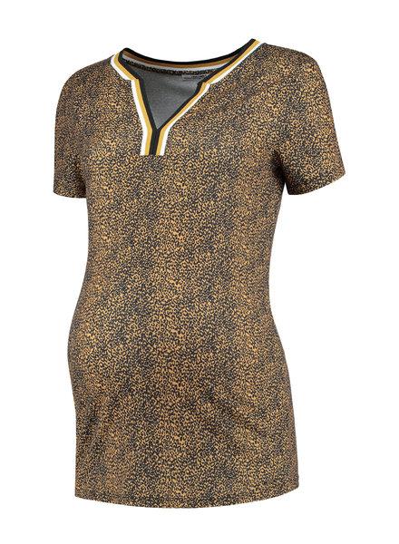 LOVE2WAIT Shirt Leopard-Ocre