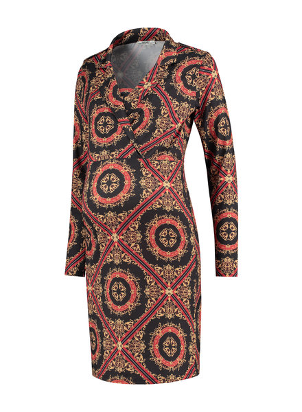LOVE2WAIT Dress AOP Baroque-Dessin
