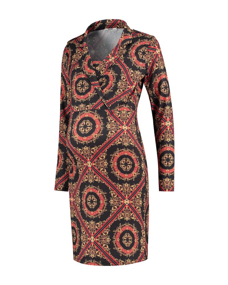 LOVE2WAIT Dress AOP Baroque-Dessin