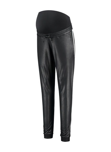 LOVE2WAIT Pants PU Piping-Black