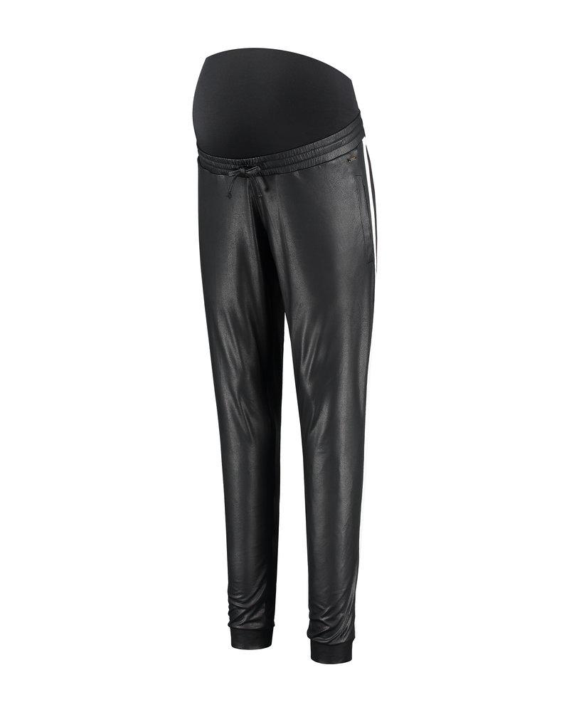 LOVE2WAIT Pants PU Piping-Black