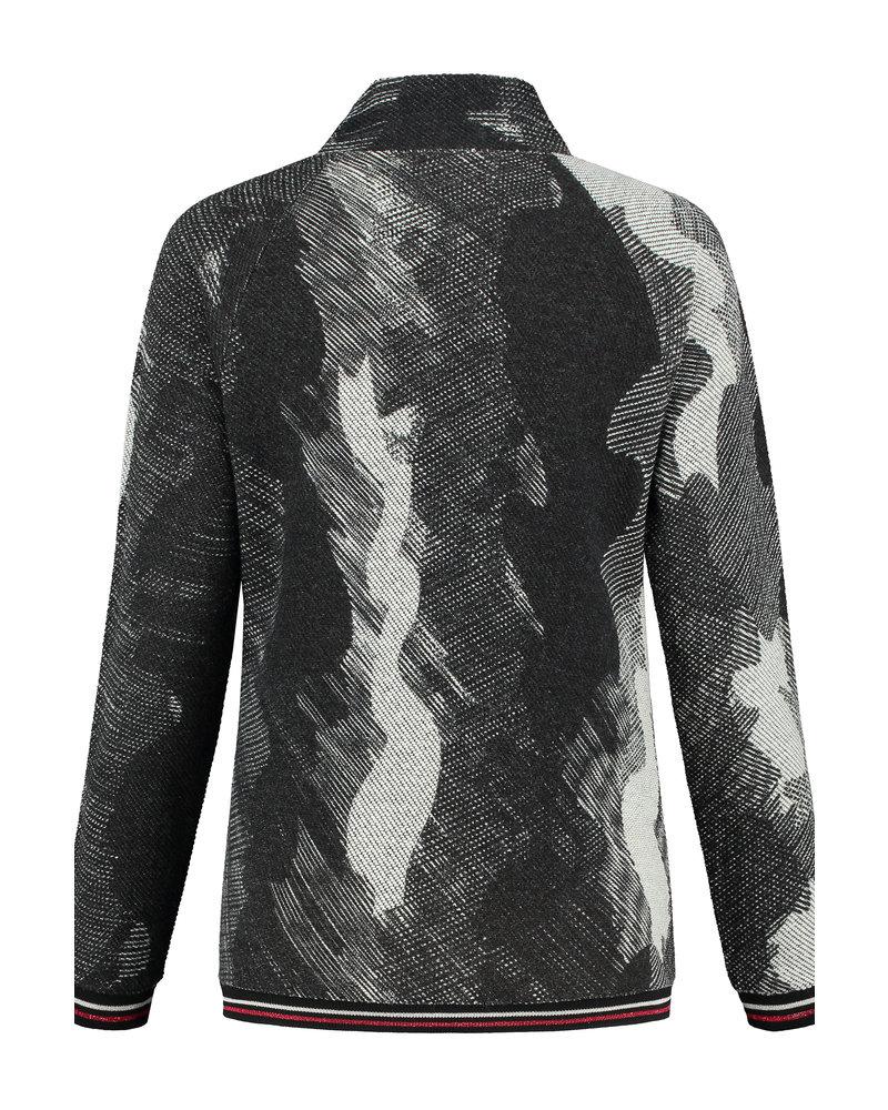 LOVE2WAIT Sweater Nursing Woolen Look-Grey