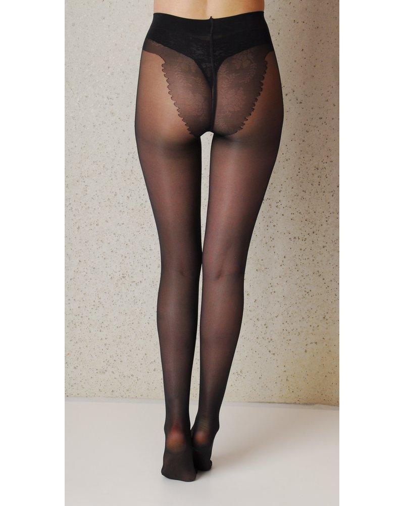 Ibici Ibici Gold Derm Bikini 40den Super zachte en hydraterende panty - Zwart