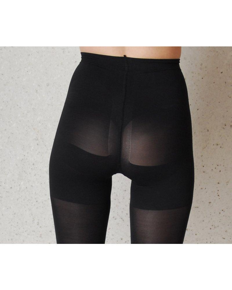 Omero Omero Form Up 50den Panty met corrigerend broekje - Zwart