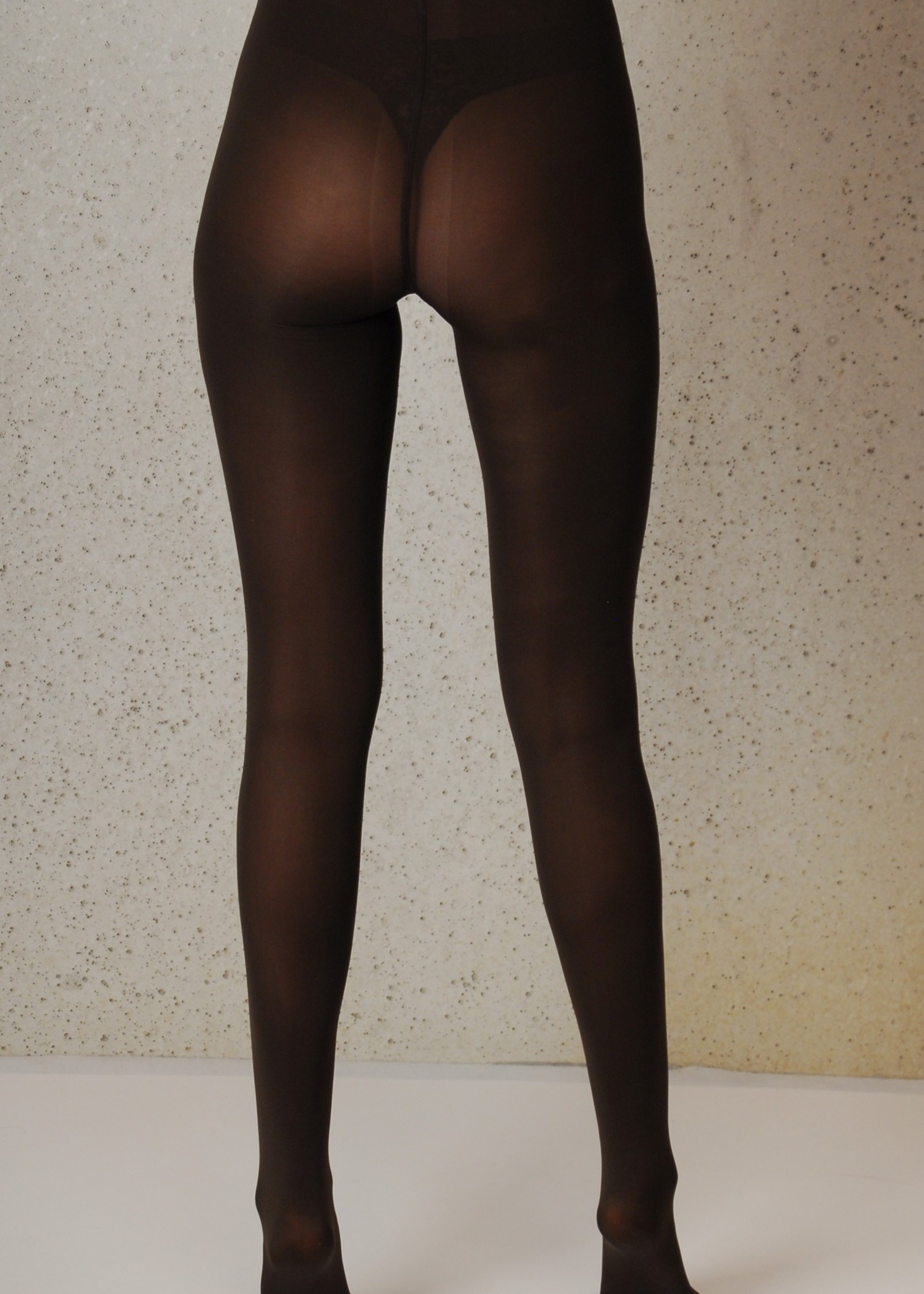 Omero Omero Iride opaque 50den 3D Panty - Koffie (bruin)