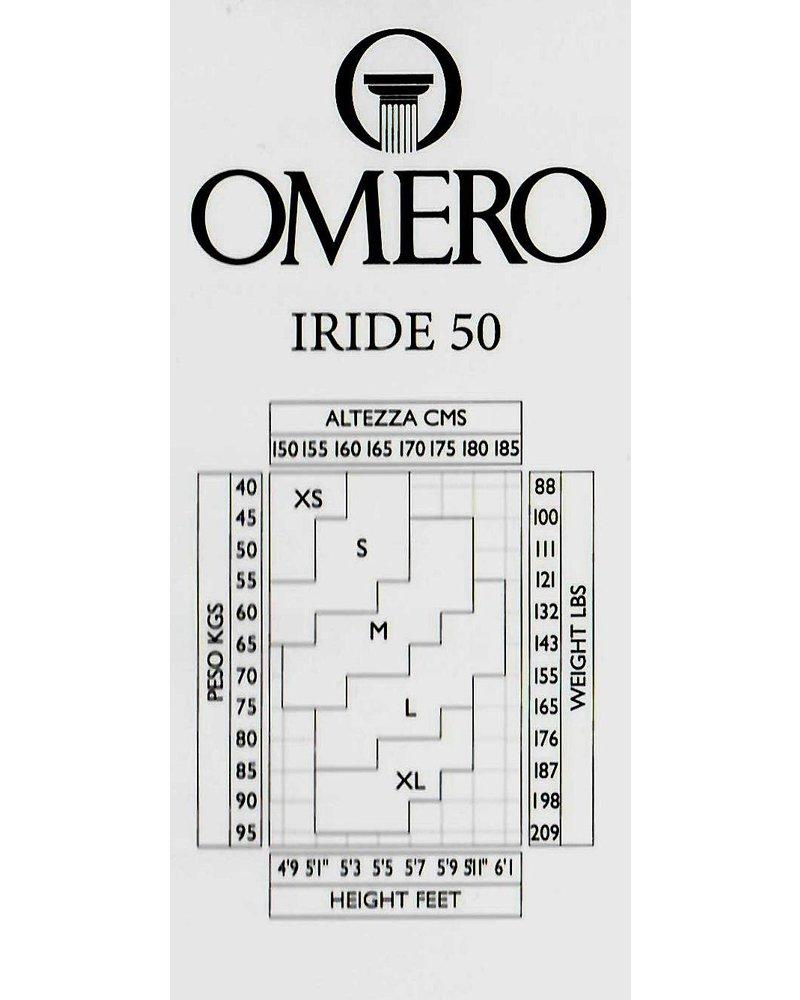 Omero Omero Iride opaque 50den 3D Panty - Zwart