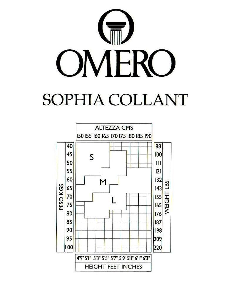 Omero Omero Sophia Matte Sheer 15den panty met Polka Dots - Zwart