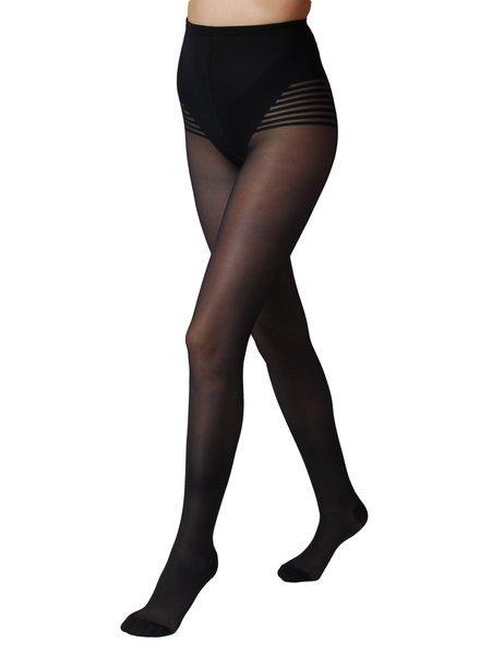 Segretta Segretta Silhouette 70 DERM® Panty met Medium Compressie - Donker Blauw