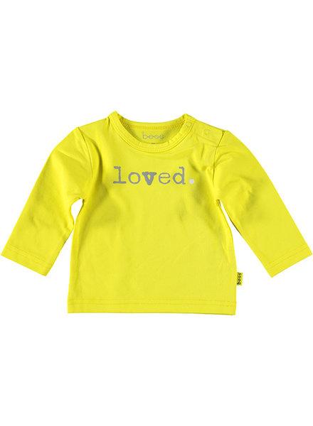 LOVE2WAIT Shirt l.sl. Loved Yellow
