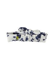 LOVE2WAIT Headband AOP Blue Flowers White