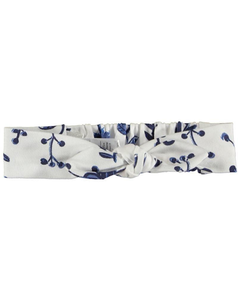 LOVE2WAIT Headband AOP Blue Flowers White