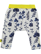 LOVE2WAIT Legging AOP Blue Flowers White