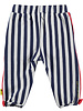 LOVE2WAIT PANTS STRIPED WITH PIPING WHITE