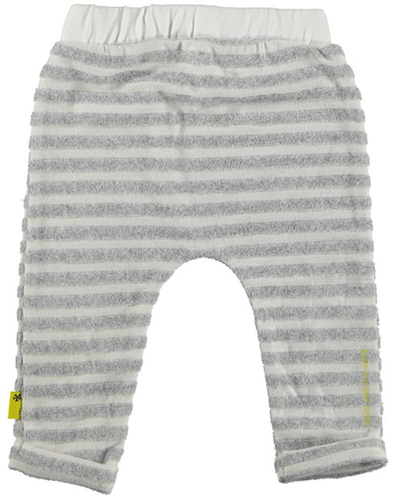 BESS Pants Striped White 20072