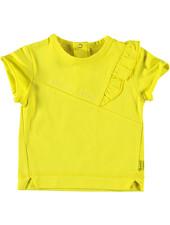 LOVE2WAIT Shirt sh. sl. Ruffle Mini Me Yellow