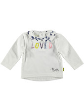 LOVE2WAIT Shirt l.sl. LOVED White/MULTI