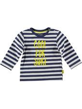 LOVE2WAIT Shirt l.sl. Striped Cool For Sure Blue