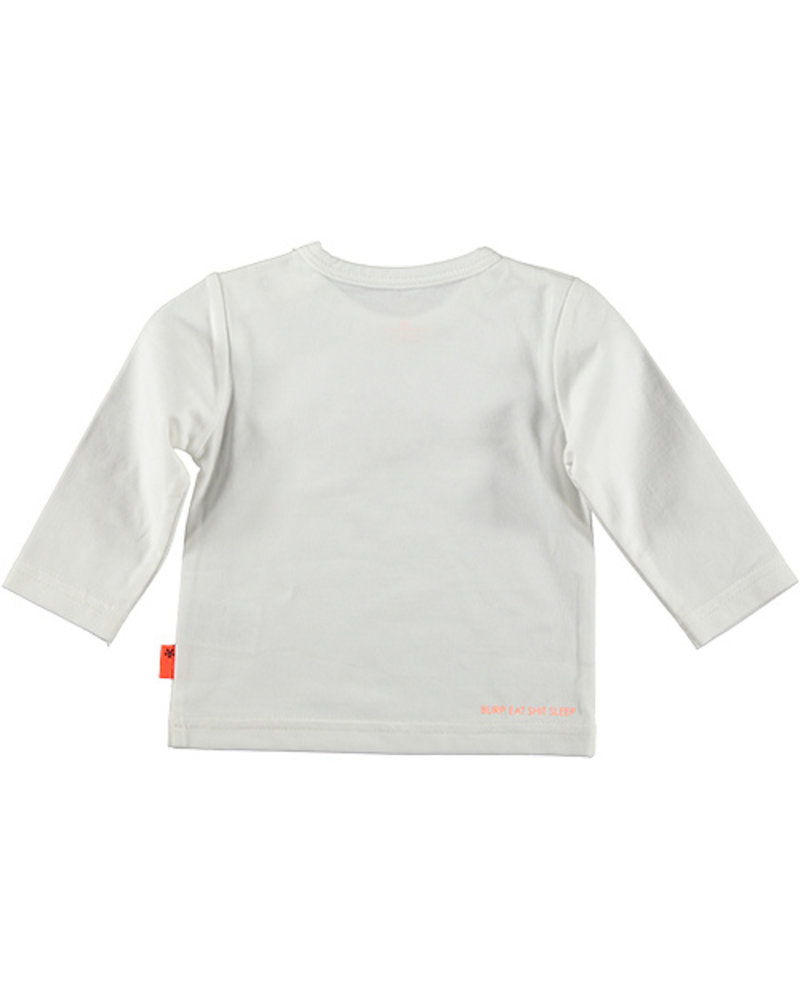 LOVE2WAIT Shirt l.sl. Swan Pompon White