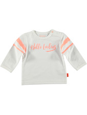 LOVE2WAIT Shirt l.sl. Hello Ladies White