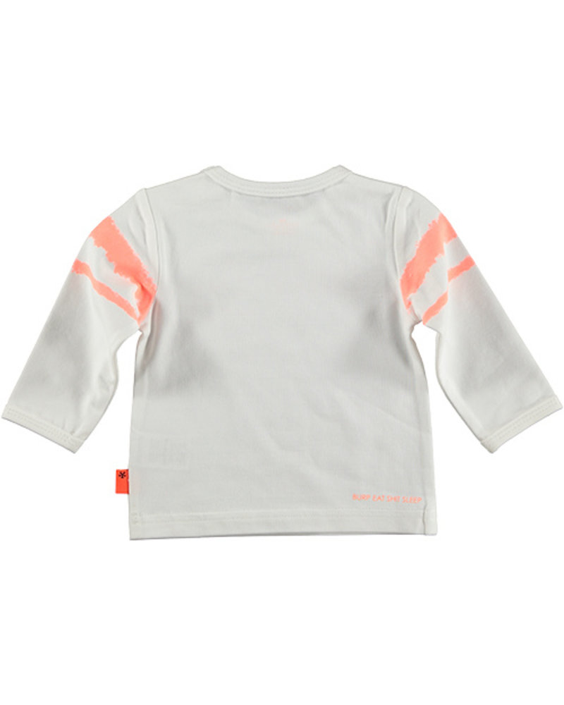 LOVE2WAIT Shirt l.sl. Hello Ladies White