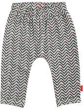 LOVE2WAIT Pants AOP Zigzag White