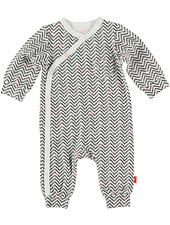 LOVE2WAIT Suit AOP Zigzag White