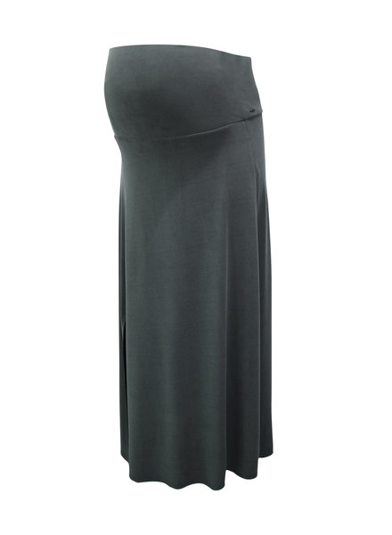 LOVE2WAIT Skirt Long Cupro Touch-Charcoal