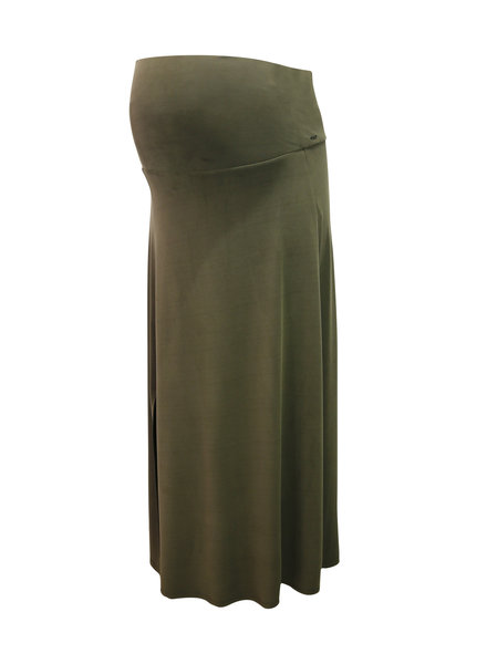LOVE2WAIT Skirt Long Cupro Touch-Green