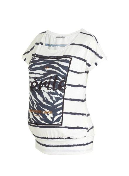 LOVE2WAIT Shirt Striped Vérité-White