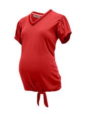 LOVE2WAIT Shirt Knot Tencel-Red