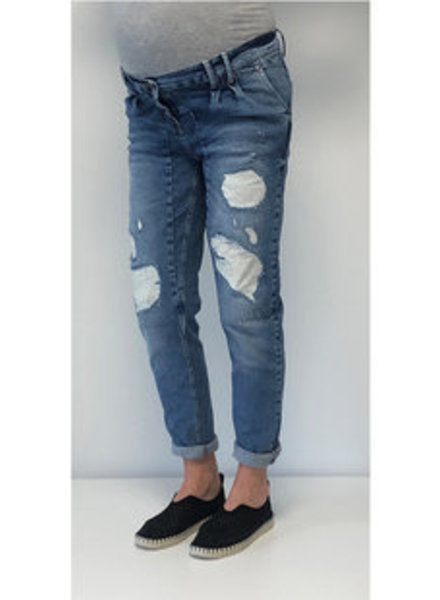 LOVE2WAIT Jeans Destroyed-Stone Wash