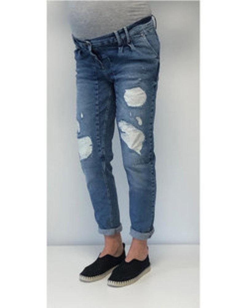 LOVE2WAIT Jeans Destroyed-Stone Wash