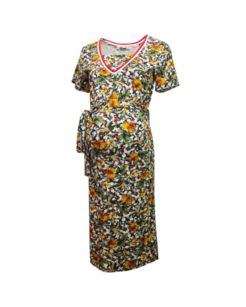 LOVE2WAIT Dress Nursing Camouflage Rib-Dessin