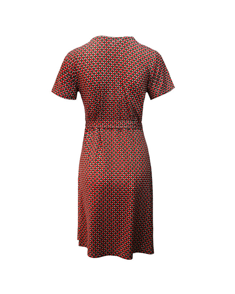 LOVE2WAIT Dress Nursing AOP Sixties-Dessin