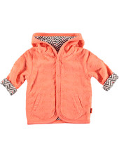 LOVE2WAIT Cardigan Reversible Stars Coral