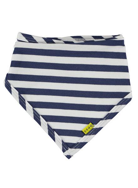 LOVE2WAIT Bib Striped Blue Blue