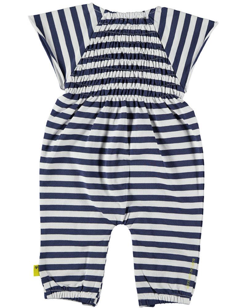 LOVE2WAIT Suit Striped Smock White