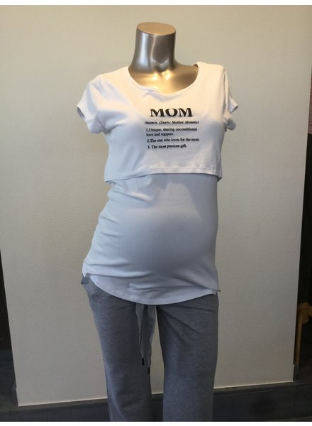 "OHMA NURSING SHIRT PRINT ""MOM"" 52082014"