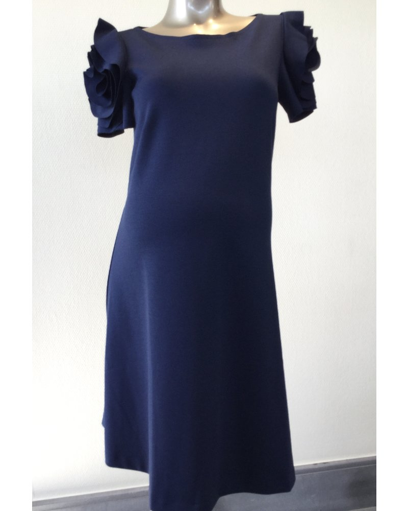 PIETRO BRUNELLI DRESS VIENNA MEDIEVAL BLUE