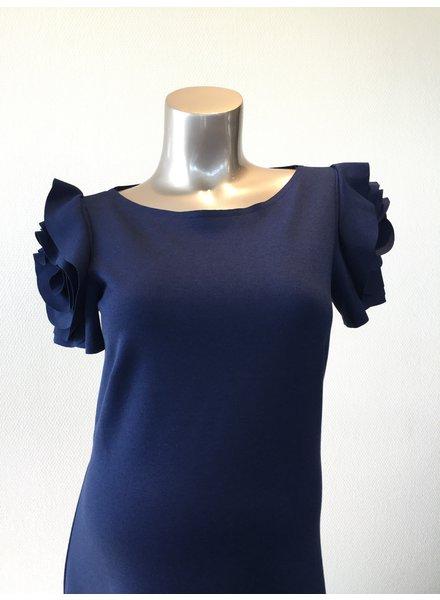 PIETRO BRUNELLI DRESS VIENNA MEDIEVAL BLUE
