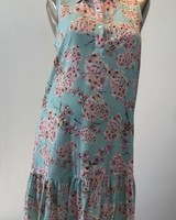 PIETRO BRUNELLI DRESS VITTORIA AM0162 CHERRY BLOSSOMS