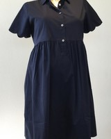PIETRO BRUNELLI DRESS BERNADETTE DARK BLUE