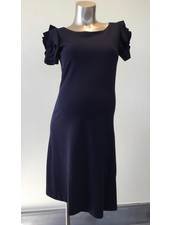 PIETRO BRUNELLI DRESS VIENNA DARK BLUE
