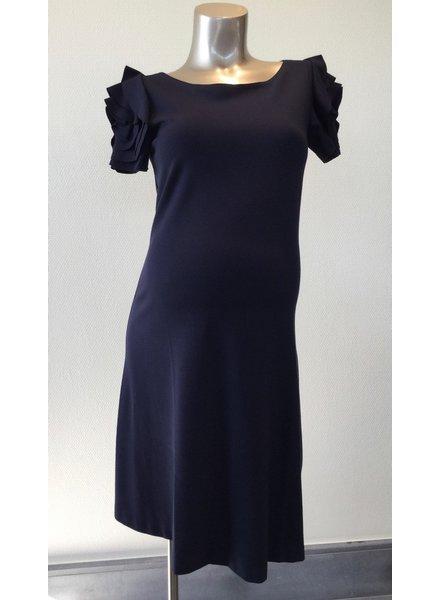PIETRO BRUNELLI DRESS VIENNA DARK BLUE