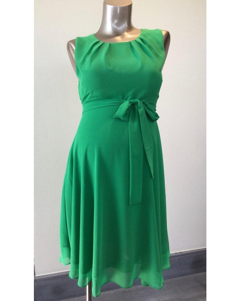 PIETRO BRUNELLI DRESS TAMIGI GREEN FLASH