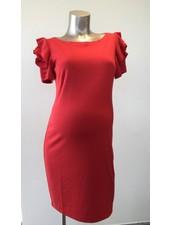 PIETRO BRUNELLI DRESS SALISBURGO PASSION RED