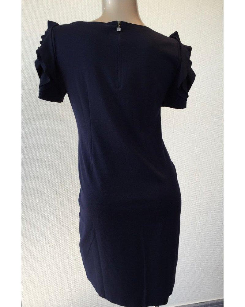 PIETRO BRUNELLI DRESS SALISBURGO DARK BLUE