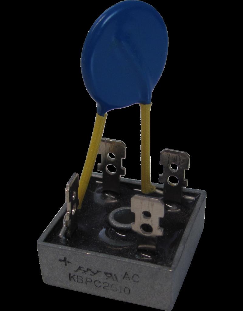 Brückengleichrichter mit Varistor