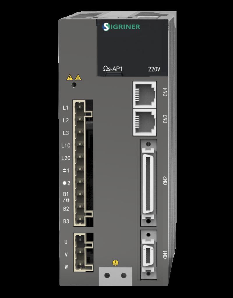 Sigriner AC Servo Drive Ω6 Series (Communication: Pulse/Analog/EtherCAT)