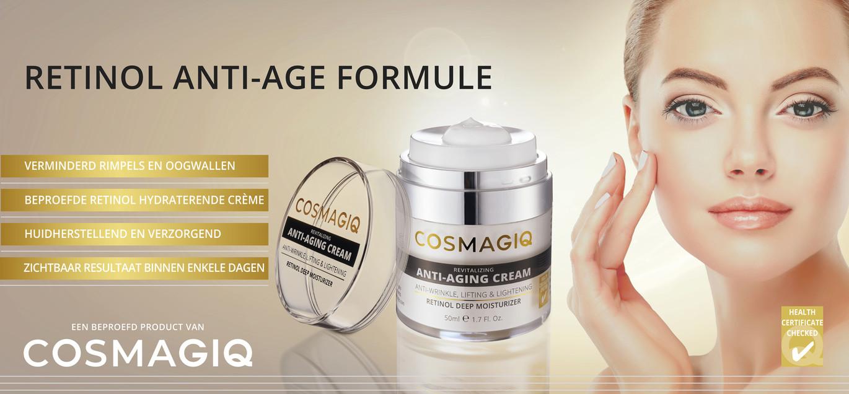 Retinol anti-age formule